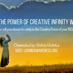 Creative Infinity Channeling by Debra Gehrke