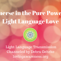 Immense in the Pure Power ofLight Language Love (1)